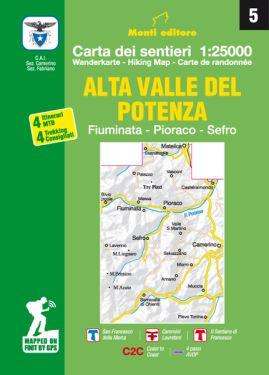 Alta Valle del Potenza 1:25.000 (5)