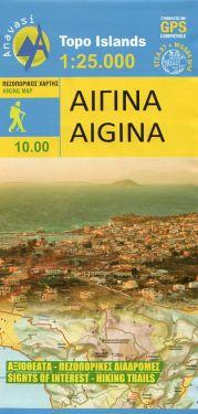 Aigina / Egina 1:25.000