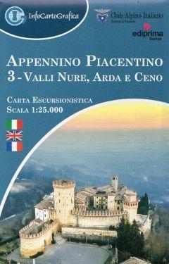 Appennino Piacentino 3 - Valli Nure, Arda e Ceno 1:25.000