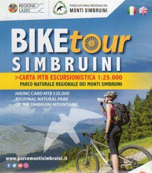 Biketour Monti Simbruini 1:25.000 - carta per mtb
