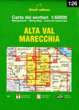 Alta Val Marecchia 1:50.000 (126)