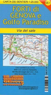Forti di Genova, Nervi e Recco f.GE1 1:25.000