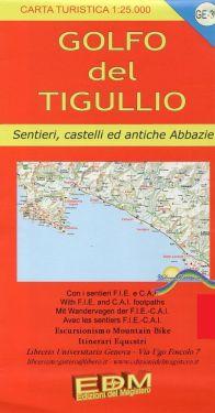 Golfo del Tigullio f.GE39 1:25.000