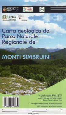Carta geologica del Parco Naturale Regionale dei Monti Simbruini 1:35.000