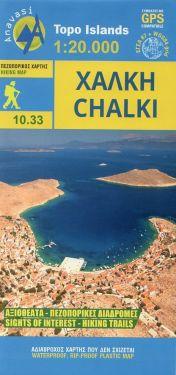 Chalki/Calchi 1:20.000