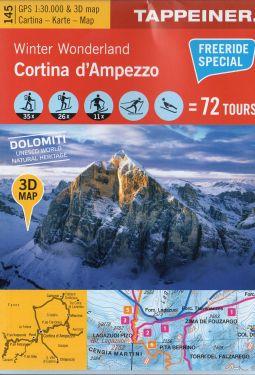 Cortina d'Ampezzo f.145 1:25.000