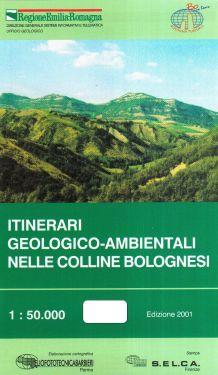 Itinerari geologico-ambientale nelle Colline Bolognesi 1:50.000