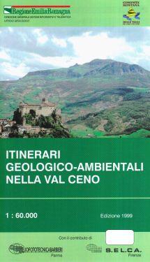 Itinerari geologico-ambientali nella Val Ceno 1:60.000