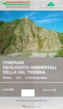 Itinerari geologico-ambientali nella Val Trebbia 1:30.000