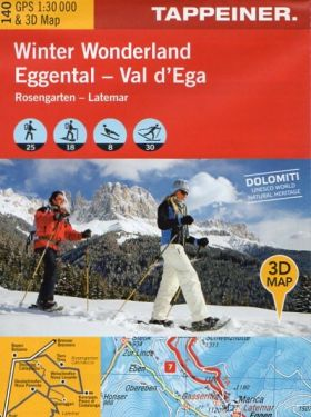 Val d'Ega, Latemar f.140 1:25.000