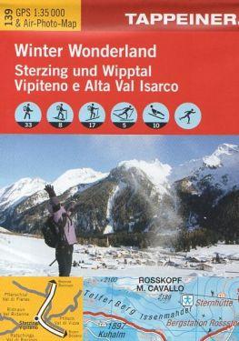 Vipiteno e Alta Val Isarco f.139 1:25.000