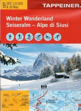 Alpe di Siusi f.127 1:25.000