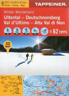 Val d'Ultimo, Alta Val di Non f.149 1:35.000