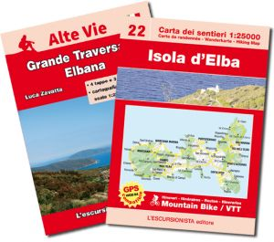 40 - Isola d'Elba 1:25.000 carta escursionistica e mountain bike