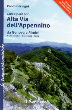 Alta Via dell'Appennino da Genova a Rimini - Vol.2 da Fanano a Rimini