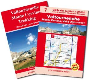 07 - Valtournenche, Monte Cervino carta dei sentieri 1:25.000 - EDIZIONE 2013