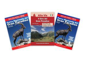 Parco Nazionale del Gran Paradiso carta dei sentieri 1:25.000 ANTISTRAPPO 2020 con guida al Giro del Gran Paradiso