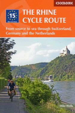 The Rhine cycle route / Fiume Reno