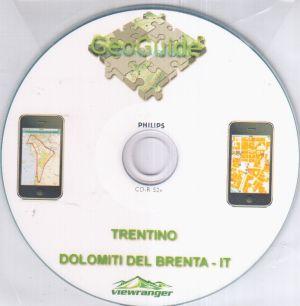 Dolomiti del Brenta - Paganella 1:10.000
