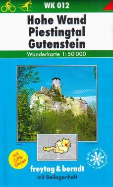 Hohe Wand, Piestingtal, Gutenstein 1:50.000