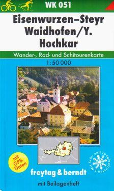 Eisenwurzen, Steyr, Waydhofen, Hockar 1:50.000