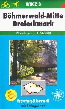Bohmerwald Mitte, Dreieckmark 1:50.000