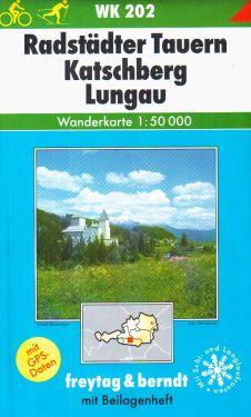 Radstadter Tauern, Katschberg, Lungau 1:50.000