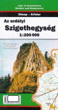 Apuseni Mountains, Szigethegység 1:200.000