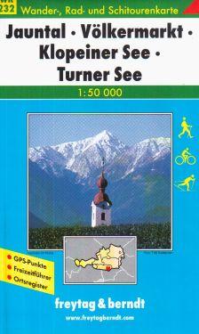 Jauntal, Volkermarkt, Klopeiner See, Turner See 1:50.000