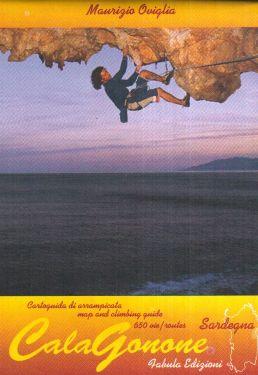Cala Gonone climbing map 1:15.000