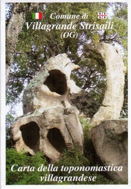 Carta della toponomastica villagrandese 1:30.000