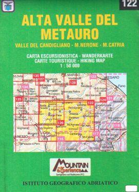 Alta Valle del Metauro 1:50.000 (122)