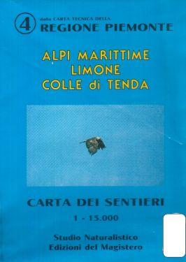 Alpi Marittime, Limone, Colle di Tenda f.AM4 1:15.000