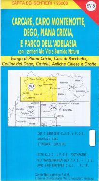 Carcare, Cairo Montenotte, Dego, Piana Crixia f.SV5 1:25.000