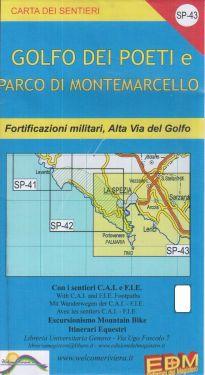 Golfo dei Poeti e Parco di Montemarcello f.SP43 1:25.000