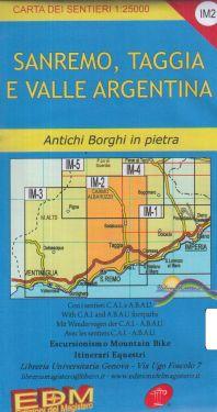 Sanremo, Taggia e Valle Argentina f.IM2 1:25.000
