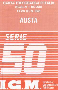 Aosta 1:50.000