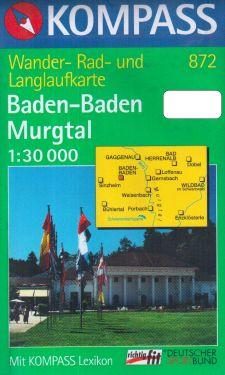 Baden-Baden, Murgtal 1:30.000