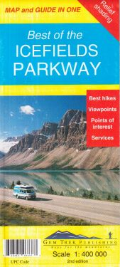 Best of the Icefields Parkway 1:400.000