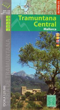 Mallorca Tramuntana Central 1:25.000
