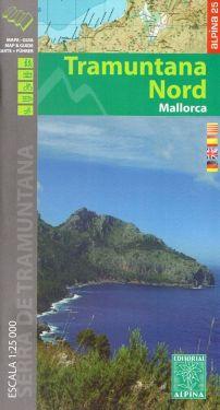 Mallorca Tramuntana Nord 1:25.000