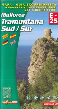 Mallorca Tramuntana Sud 1:25.000