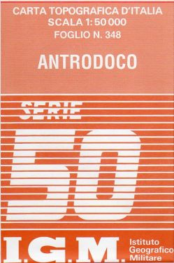 Antrodoco 1:50.000