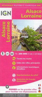 Alsace Lorraine / Alsazia Lorena 1:250.000