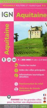 Aquitaine / Aquitania 1:250.000
