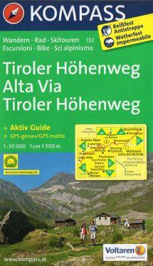 Alta Via Tiroler Hohenweg 1:50.000