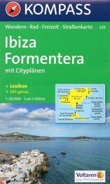 Ibiza, Formentera 1:50.000