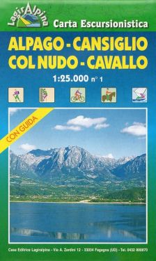 Alpago, Cansiglio, Col Nudo, Cavallo f.1 1:25.000