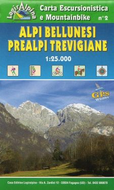 Alpi Bellunesi f.2 1:25.000