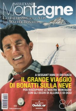 Meridiani Montagne n°84 - La Traversata delle Alpi con Walter Bonatti